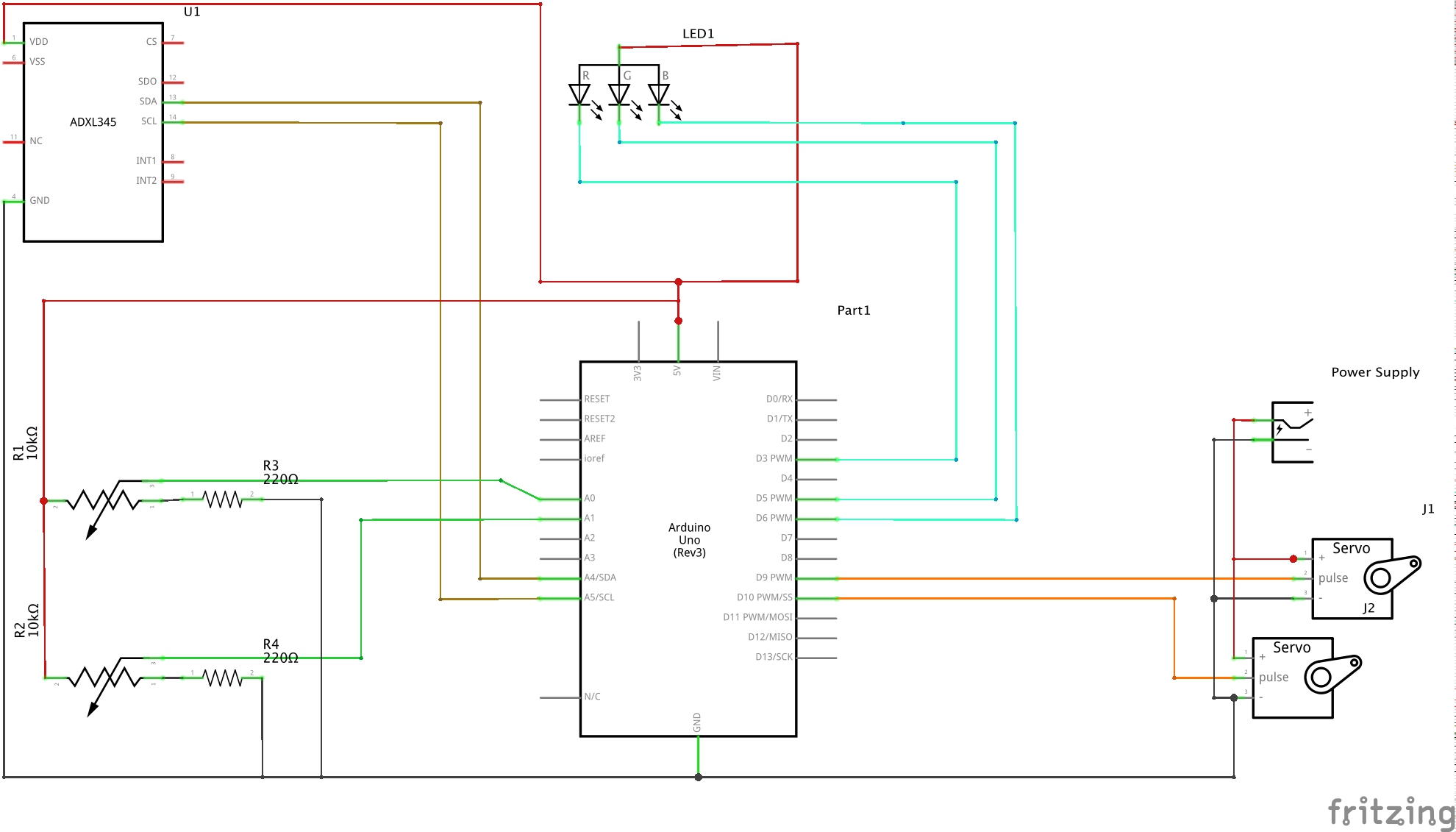 Picture of Electronics: Wiring and Testing