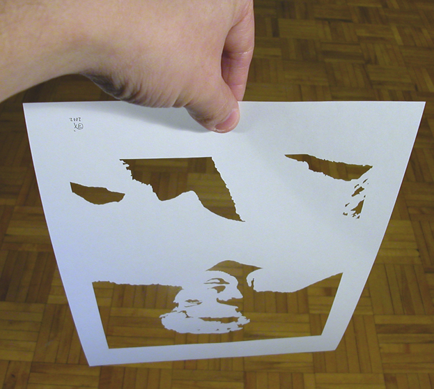Picture of Monroe Silhouette Paper Cutting