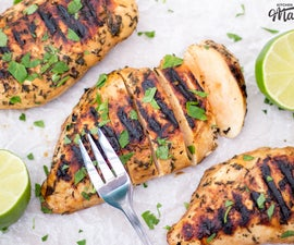 How to Make Juicy Chargrilled Lime Chicken