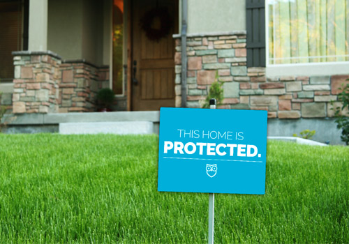 Picture of Make Home Security Signs Visible