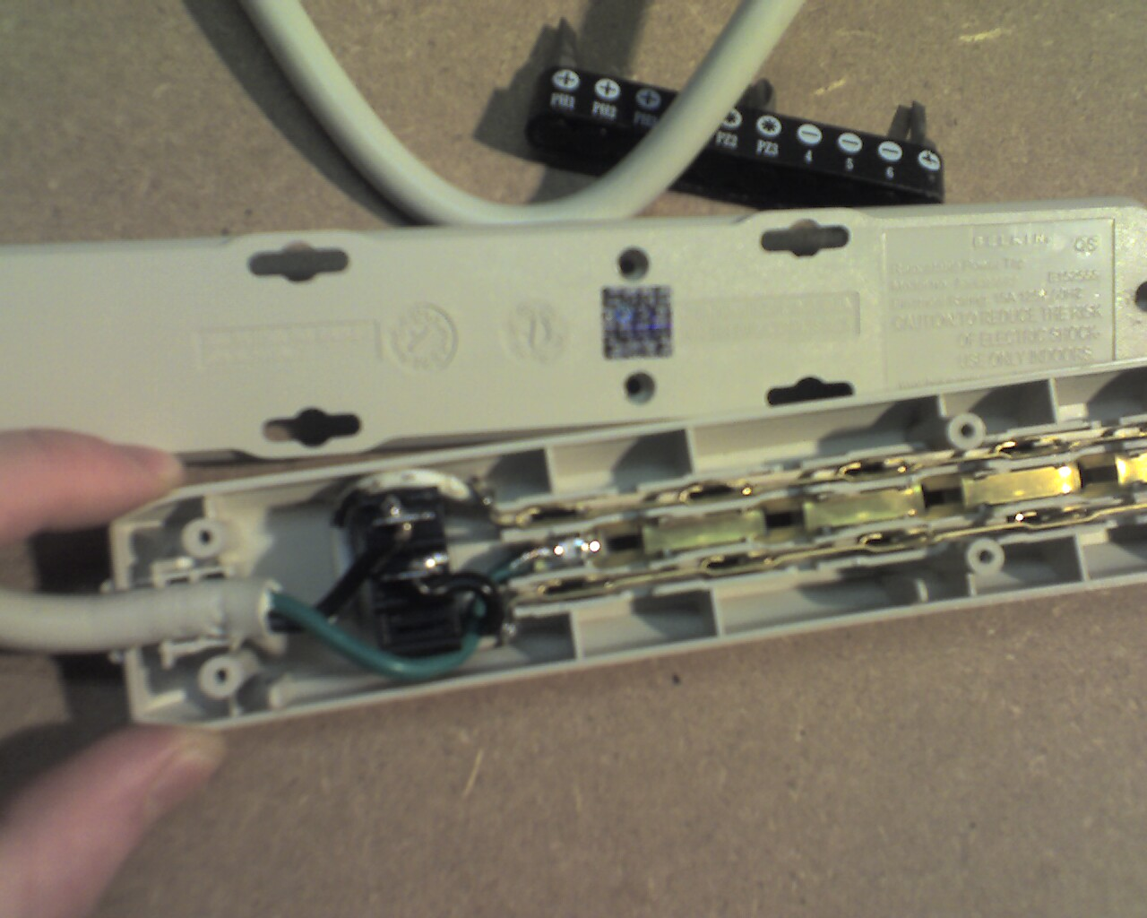 Picture of Desolder the Switch and Remove the Strips