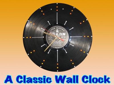 A CLASSIC WALL CLOCK