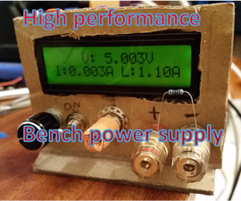 High Performance Adjustable Power Supply (~£50) With Optional Digital Control