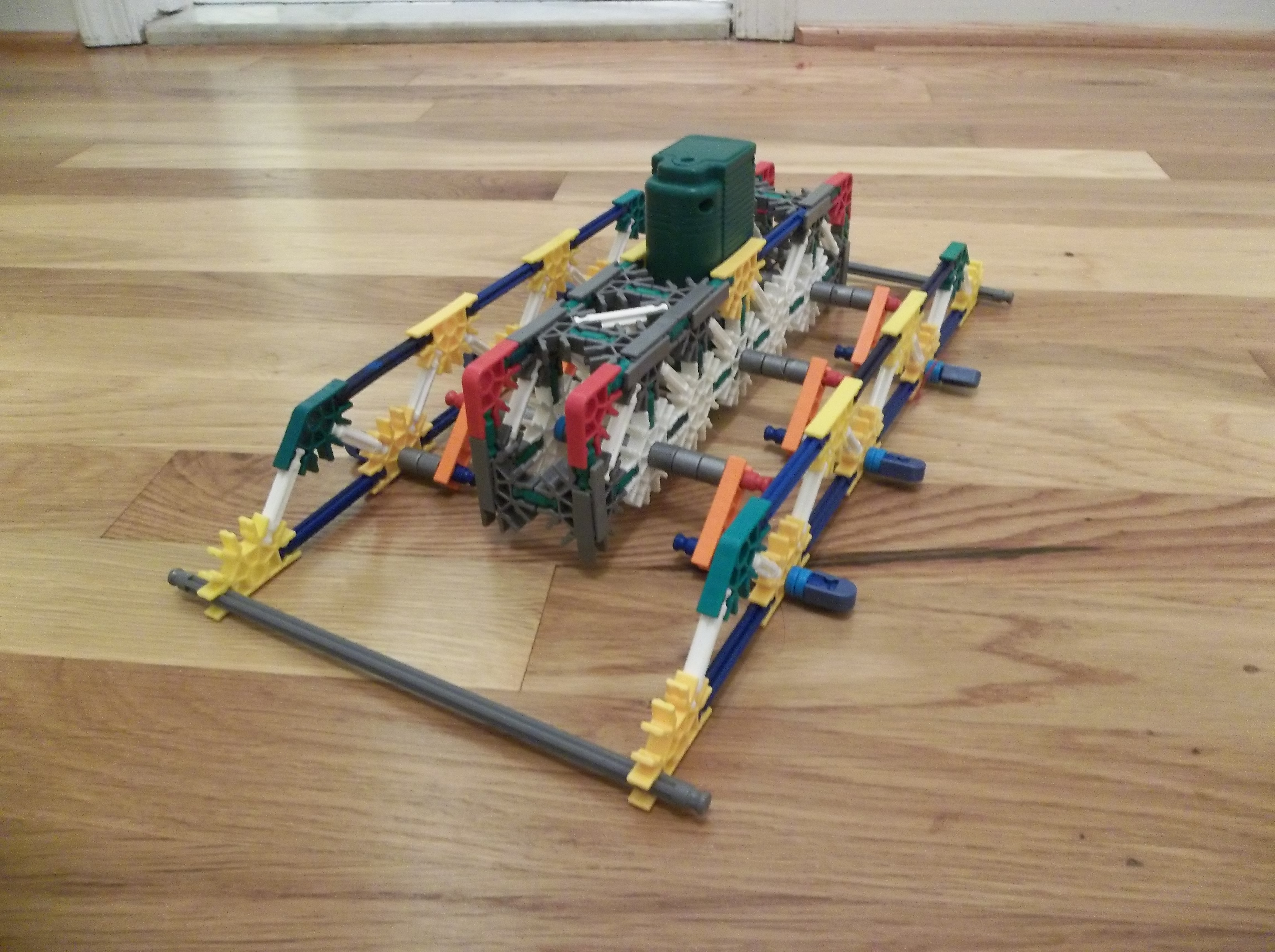 Picture of Knex Crawling Machine