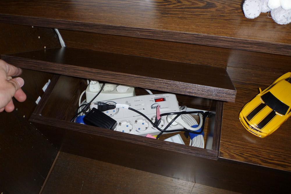 Picture of Cable Organizer Box & Shelf