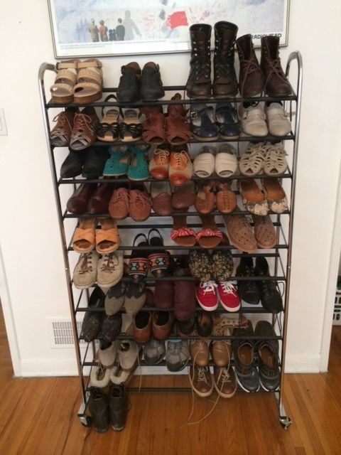 Picture of Step 1: Get a Shoe Rack