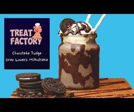 Chocolate Fudge Oreo Lovers Milkshake