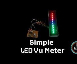 Simple & Easy to Make Vu Meter or Audio Meter Using LM3915