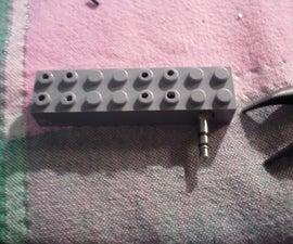 Easy Lego iPod Speaker for less than 2 $ !