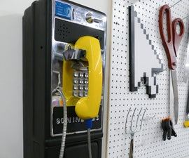 '90s Payphone Boombox Hack
