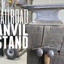 DIY Railroad Anvil Stand