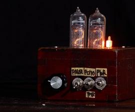 Pomodoro timer with USSR nixie tubes and japanese measure 'masu'