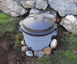 Backyard Organic Waste Digester