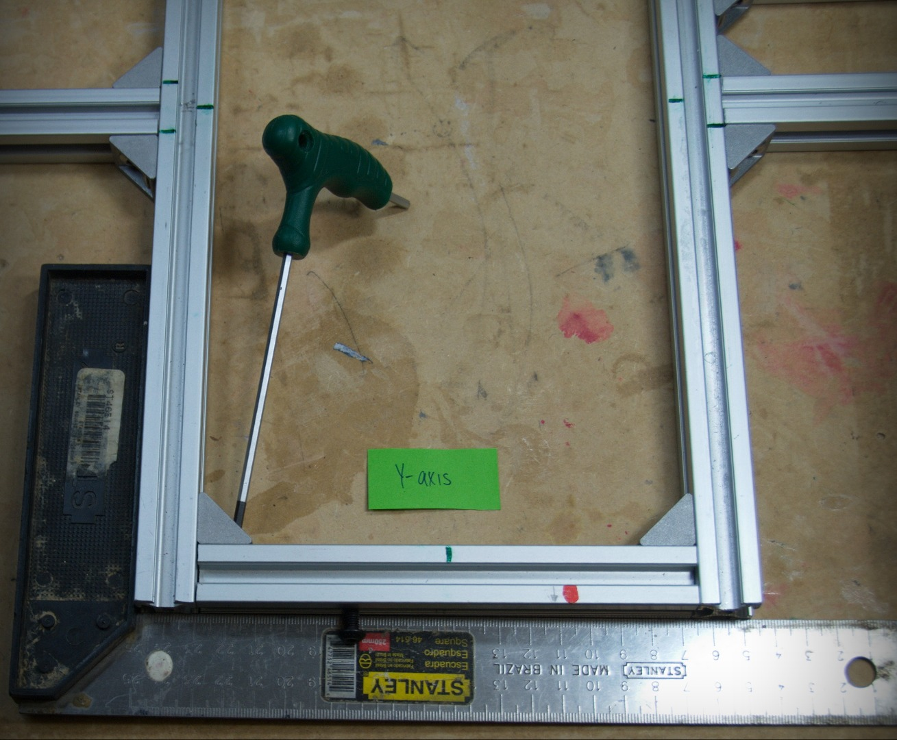 Picture of Frame: Y-axis