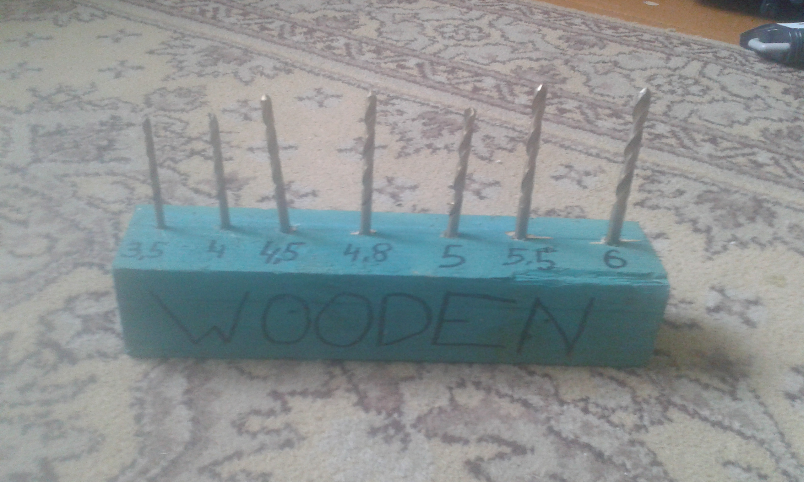 Picture of Stand for Wooden Drill Bits