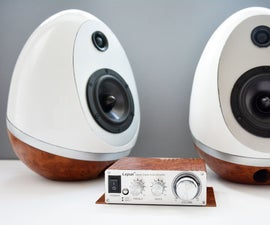 Speaker Eggs - 3D Printing Build