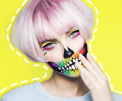 Halloween Makeup With a Picture Editor