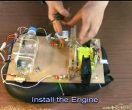 DIY-Engine RC Boat From Used Parts