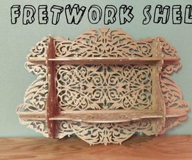 Fretwork Shelf in 700 Easy Cuts