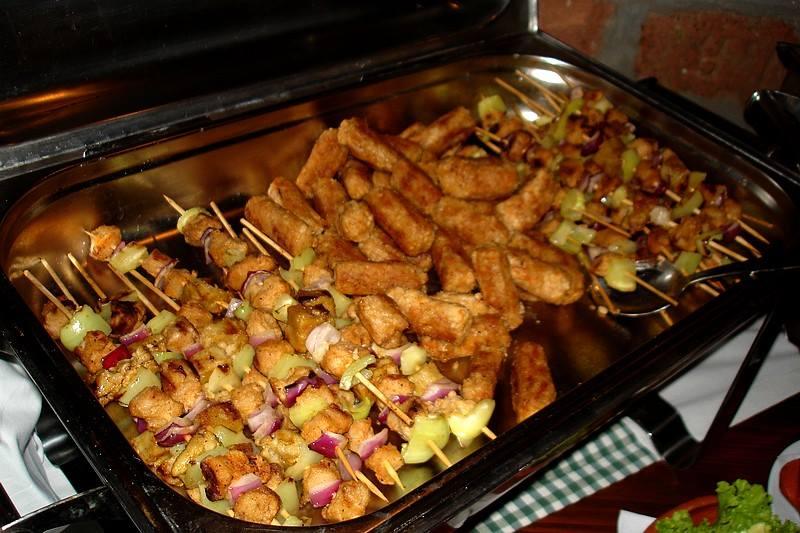 Picture of Vegan Mini Kebabs - a Balkan Specialty!
