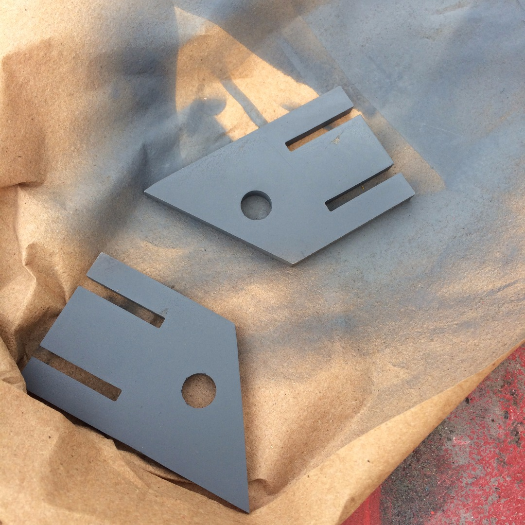 Picture of Waterjet Cut Parts