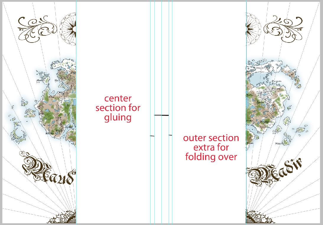 Picture of Outer Map Sections.