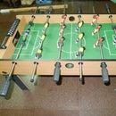 DIY the table football's leg foldable
