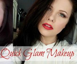 Easy, Quick Glam Makeup Tutorial