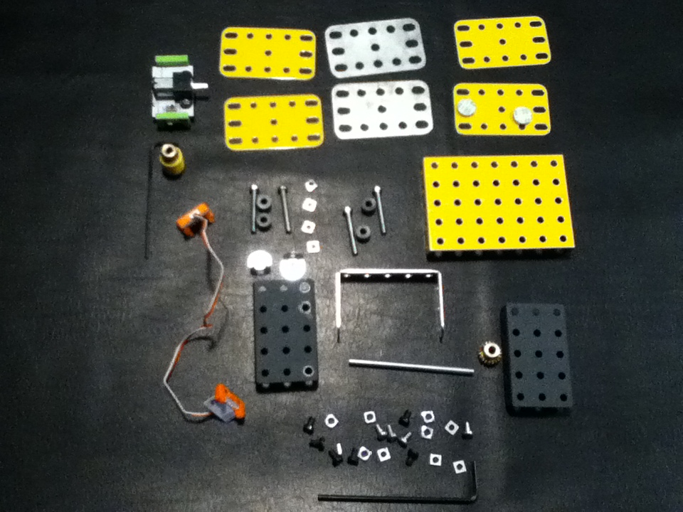 Picture of Build the Rotator Base