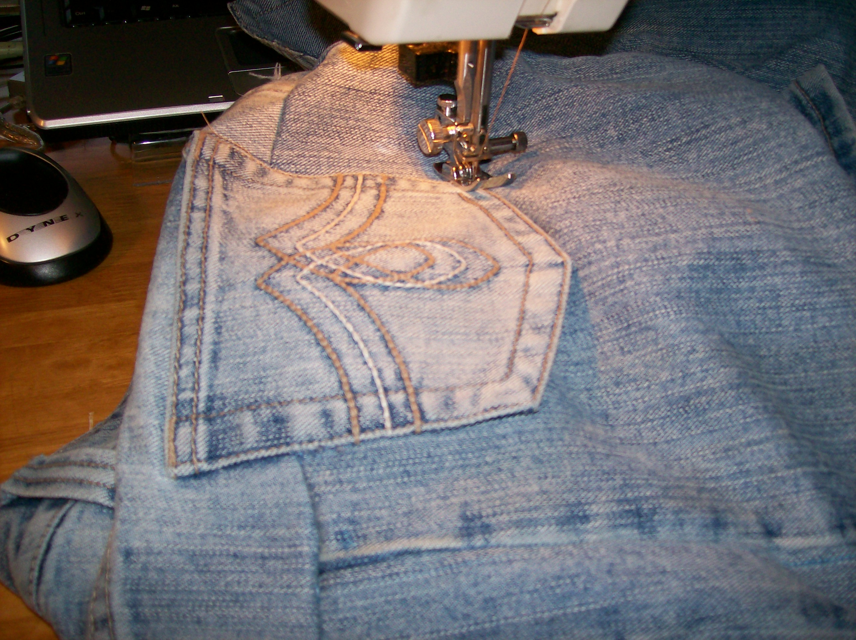 Picture of Stitch the Side Seams