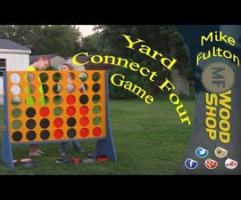 Yard Connect Four