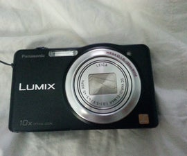 Cleaning the CCD Sensor on a Panasonic Lumix Point and Shoot Camera.