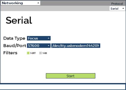 Setup the Networking Widget