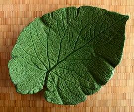 Shape Your Own : Decorative Concrete Leaf