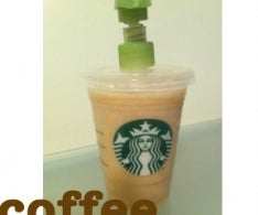 Starbucks Lotion Dispenser & Coffee Lotion