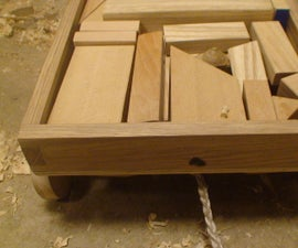 How to build a block cart