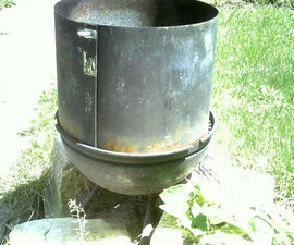 Grill Extender / FREE CHARCOAL maker