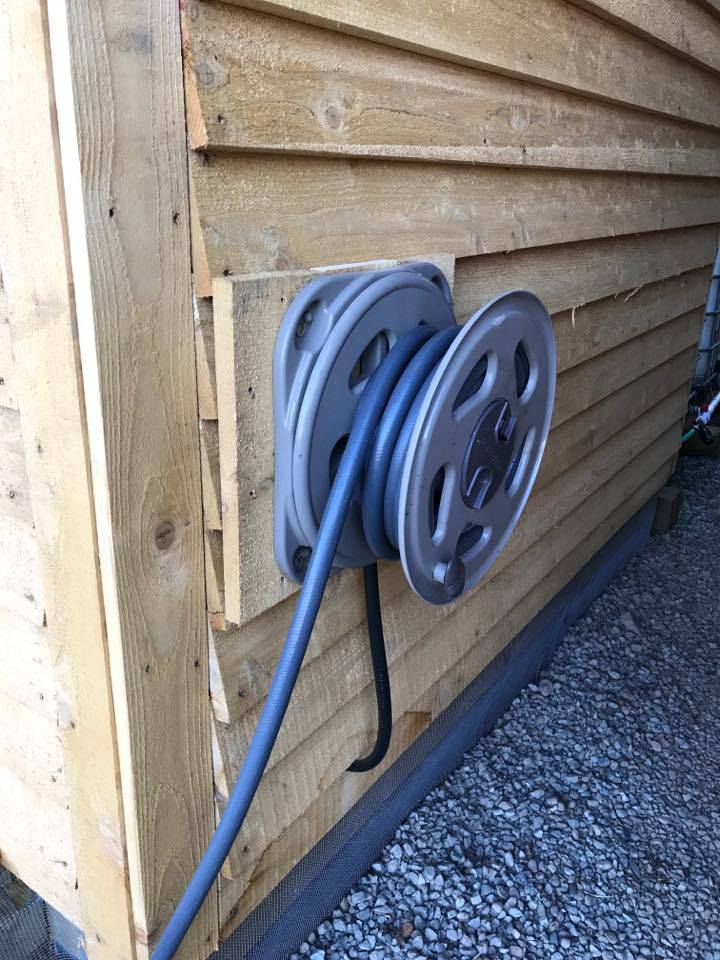 Picture of Outlet From Pump to Hose Reel