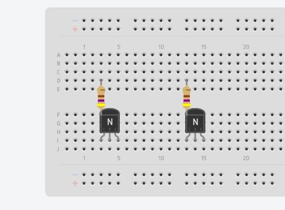 Picture of Colocar Resistencias Y Transistores