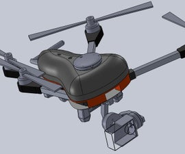 Foldable 3D Printed Quadcopter