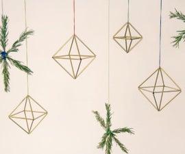 Make Brass Himmeli Ornaments