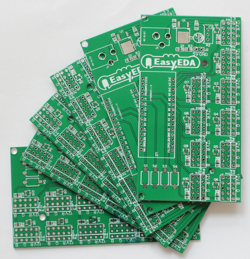 Picture of TAKE DELIVERY OF THE PCB: