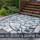 Stone Path From Tombstone Residues