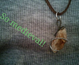 How to make a hand made gemstone necklace
