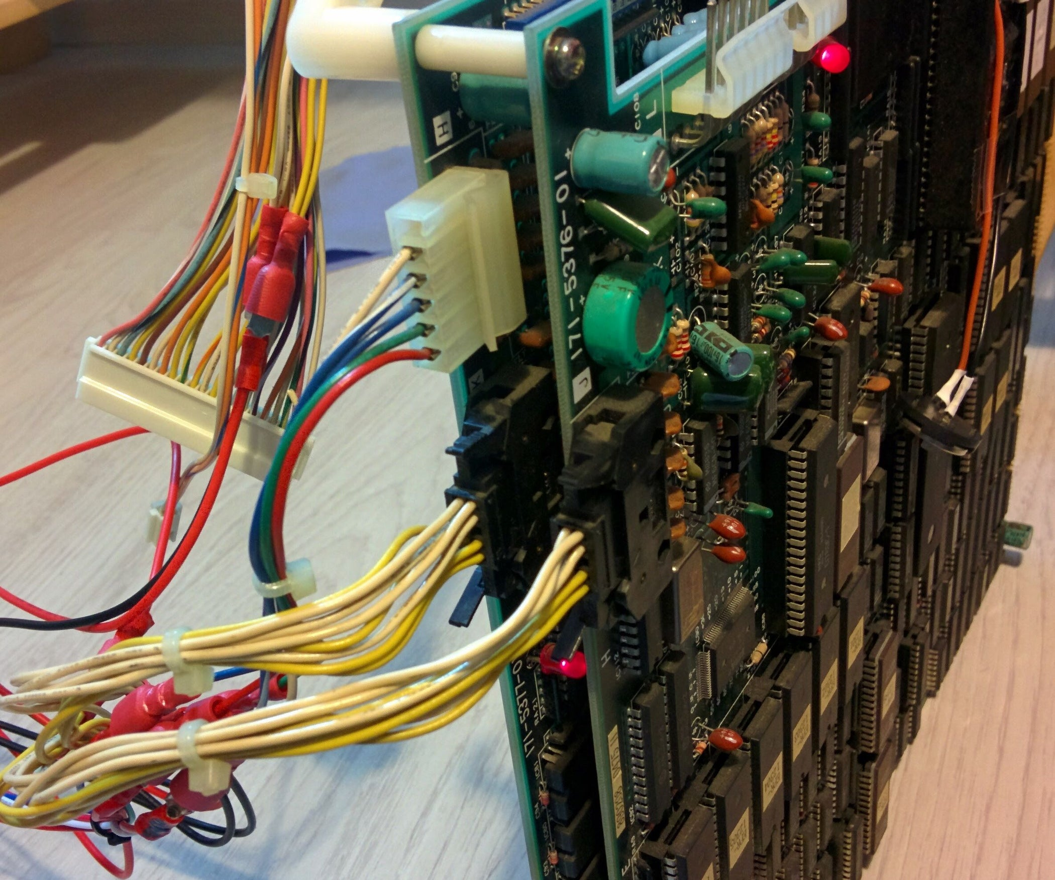 Jammafying Turbo Outrun 3 Steps Wiring Jamma Power Supply