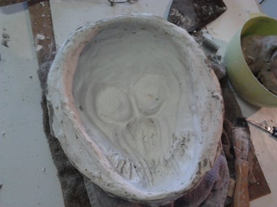 Making the Plaster-Paris Mold Continued.