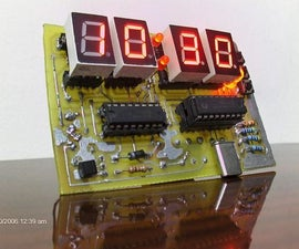 PIC16F84 Digital Clock / Silent Alarm