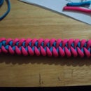 Tight Fishtail Knott Braclet With Shoe Laces