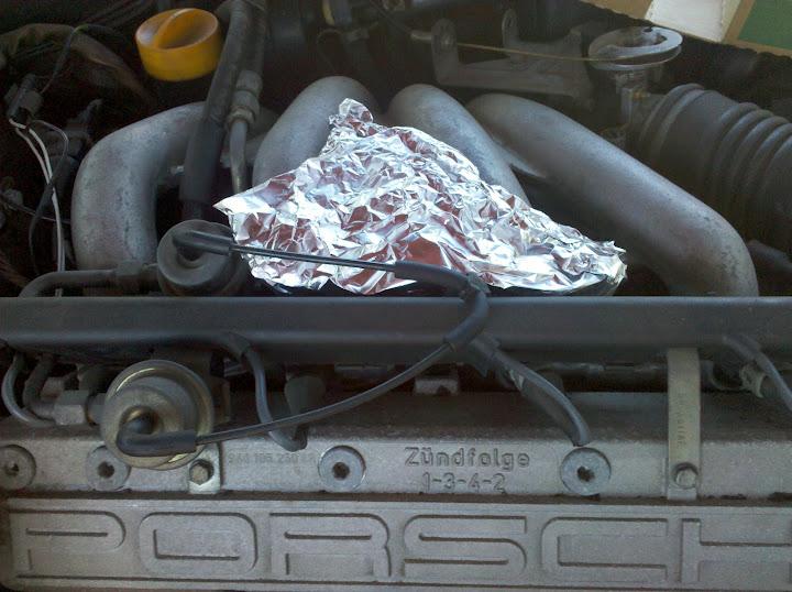 Picture of Wrap in Aluminium Foil