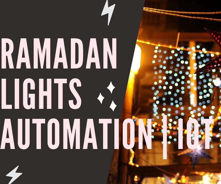 Ramadan Lights   Home Automation IOT - RapidAPI